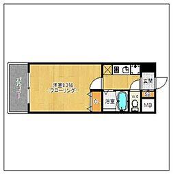 ルモールTJ[4階]の間取り