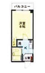 アパートメントkuki103[1階]の間取り