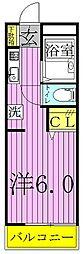 スミレハイツA・B[2-101号室]の間取り