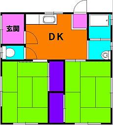 [一戸建] 静岡県浜松市東区大蒲町 の賃貸【静岡県 / 浜松市東区】の間取り