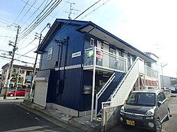 兵庫県神戸市灘区楠丘町4丁目の賃貸アパートの外観