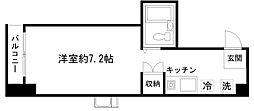 京都府京都市下京区西境町の賃貸マンションの間取り