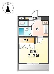 DOLL HOUSE又穂[1階]の間取り