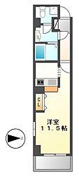 Classia[3階]の間取り
