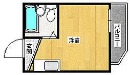 ルネッサンス塚本[2C号室]の間取り
