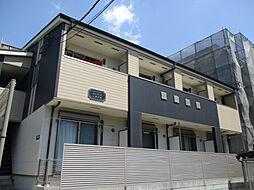 兵庫県神戸市中央区上筒井通5丁目の賃貸アパートの外観