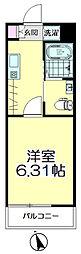 (仮称)青葉区台原共同住宅A棟[204号室]の間取り