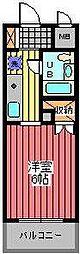 埼玉県さいたま市浦和区針ヶ谷3丁目の賃貸マンションの間取り