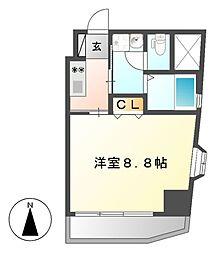 アビタシオン鶴舞[5階]の間取り