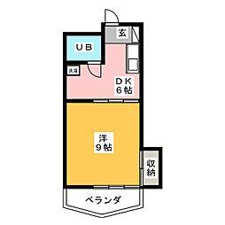 COOP・S[3階]の間取り