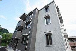 広島県福山市蔵王町の賃貸アパートの外観