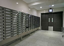 共用部 エレベータホール・郵便受け 2019.5月