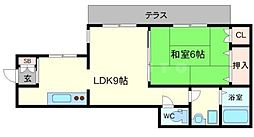 新堂タウン[1階]の間取り