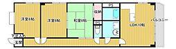 ロワールパークII[4階]の間取り