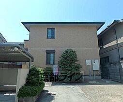 京都府京都市西京区山田久田町の賃貸アパートの外観