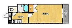 No.21インターネット片野[7階]の間取り