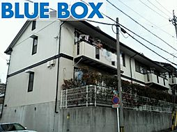 愛知県岡崎市井田町字茨坪の賃貸アパートの外観