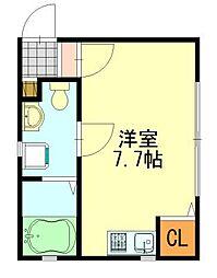 Loaplata千葉寺(ロアプラタ)[103号室]の間取り
