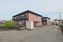 岡山県岡山市東区西大寺川口の賃貸アパートの外観