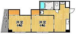 セルフィーユ今川[2階]の間取り