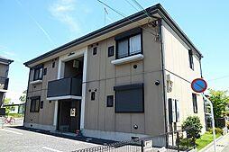 滋賀県栗東市綣1丁目の賃貸アパートの外観