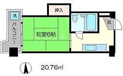 京都四条グランドハイツ[5階]の間取り