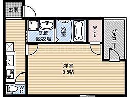フジパレス横堤3番館[2階]の間取り