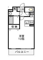 大島マンション2[3階]の間取り