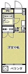 神奈川県相模原市緑区橋本2丁目の賃貸アパートの間取り