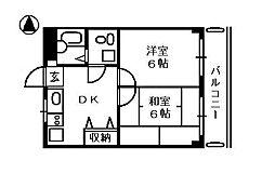 K2スペース[2階]の間取り