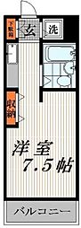 神奈川県川崎市川崎区境町の賃貸マンションの間取り