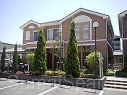大阪府堺市北区百舌鳥陵南町2丁の賃貸アパートの外観