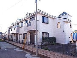 千葉県船橋市田喜野井2丁目の賃貸アパートの外観