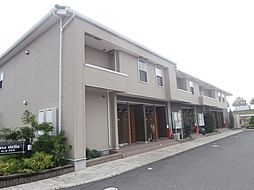 和歌山県紀の川市西井阪の賃貸アパートの外観