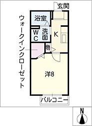 GEMINATIONSS B[2階]の間取り