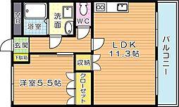 花みずき[2階]の間取り