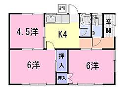 [一戸建] 三重県松阪市大黒田町 の賃貸【/】の間取り