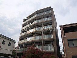 東京都昭島市朝日町3丁目の賃貸マンションの外観