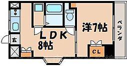 広島県広島市東区光町2丁目の賃貸マンションの間取り