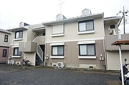 東京都日野市南平3丁目の賃貸アパートの外観