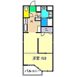 EXT B棟[2階]の間取り