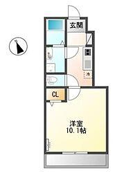 (仮)上之町賃貸アパート新築工事[1階]の間取り