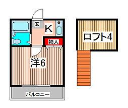 アートパレス浦和No2[1階]の間取り