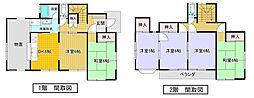 甲府市千塚5丁目中古住宅 6DKの間取り