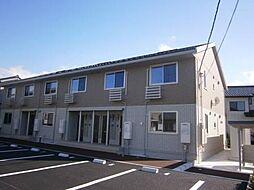 富山県富山市小杉の賃貸アパートの外観