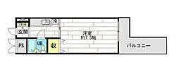 第3明香ビル[9階号室]の間取り