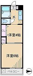 正太駒込マンション[4階]の間取り
