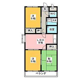 パレスOT[2階]の間取り