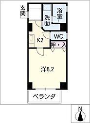 久保建設ビル[4階]の間取り