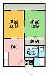 パールマンション[101号室]の間取り